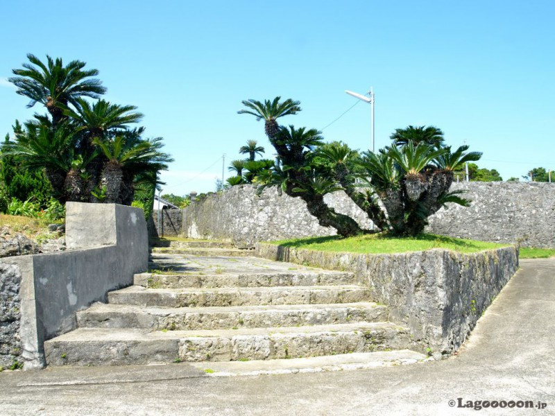 平家の石垣